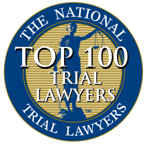 Melanie N. Roe Top 100 Trial Lawyers Award